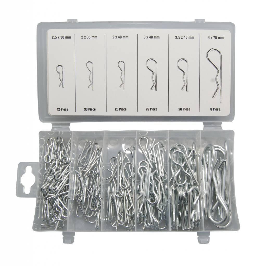 Benson Tools Lot de 150 goupilles beta 30 à 75 mm 6788
