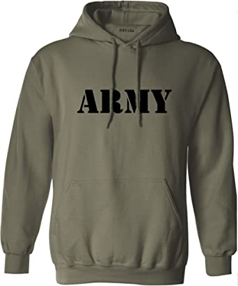 Amazon.com  Joe s USA Army Logo Hoodies - Military Style Physical Training Hooded  Sweatshirts. S-5XL  Clothing e5d6e99bc