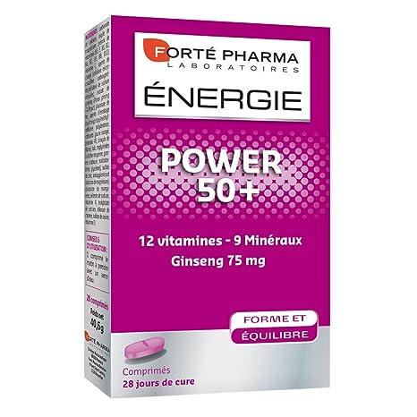 Forté Pharma énergie power 50+ 28 comprimés
