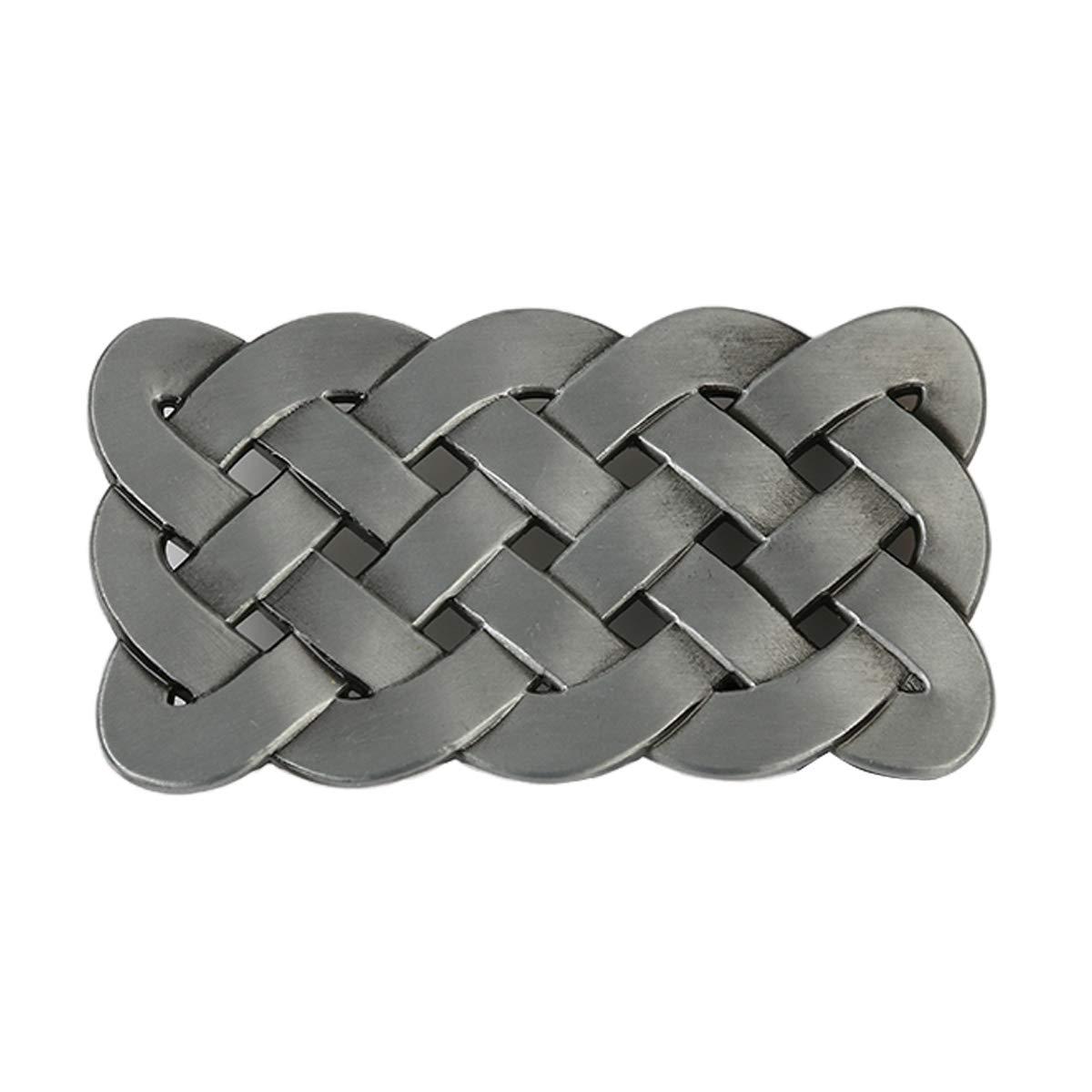 Western Celtic Knot Belt Buckle for Men Women Vintage Belt Buckle