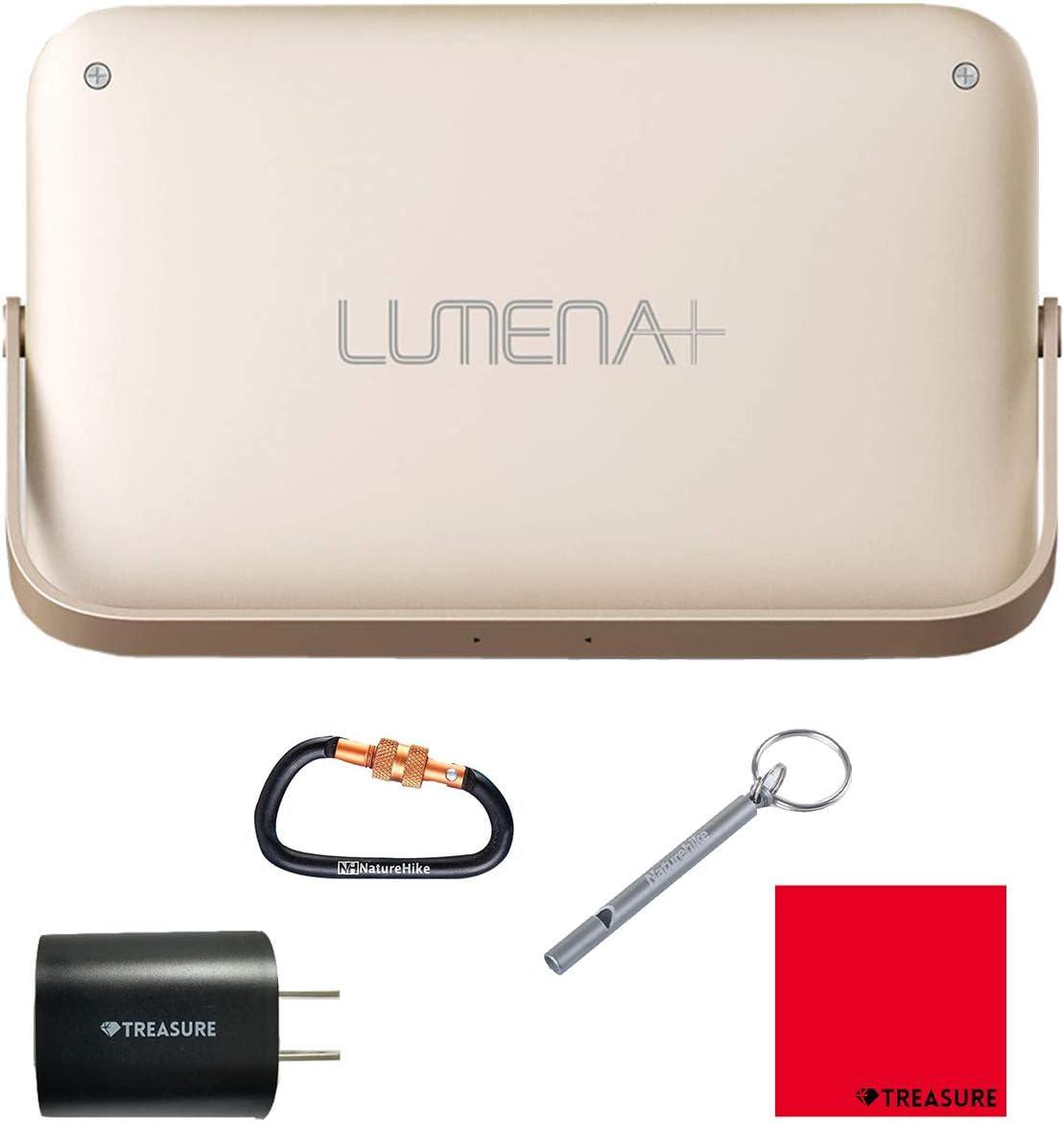 NNINE LUMENA(ルーメナー)7 LEDランタン メタルゴールド