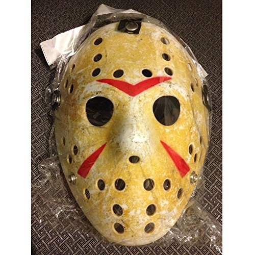 Friday The 13th Jason Hockey Mask (Friday the 13th Hockey Mask Jason vs Freddy Halloween Costume Mask)