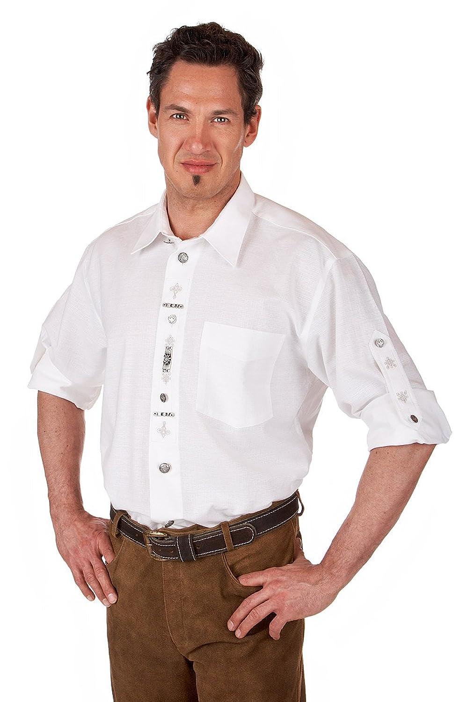 Orbis Textil H029 - Trachten Hemd mit Krempelarm