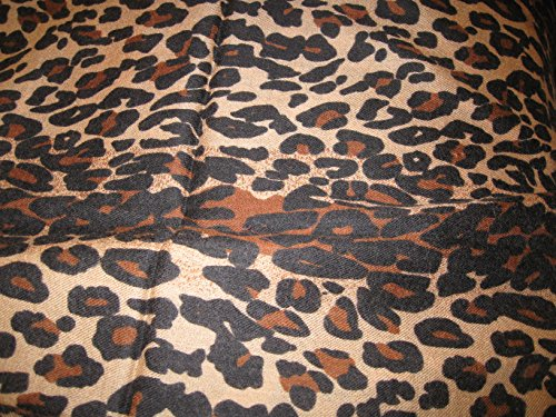CASHMERE SHAWL -ANIMAL PRINT (CHOCOLATE LEOPARD) by Cashmere Pashmina Group (Image #6)
