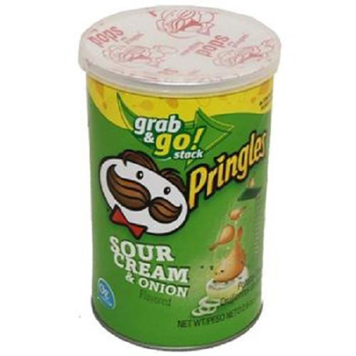 Product Of Pringles, Grab & Go - Sour Cream & Onion Medium, Count 1 - Chips / Grab Varieties & Flavors