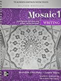 img - for Mosaic Level 1 Writing Teacher's Edition book / textbook / text book