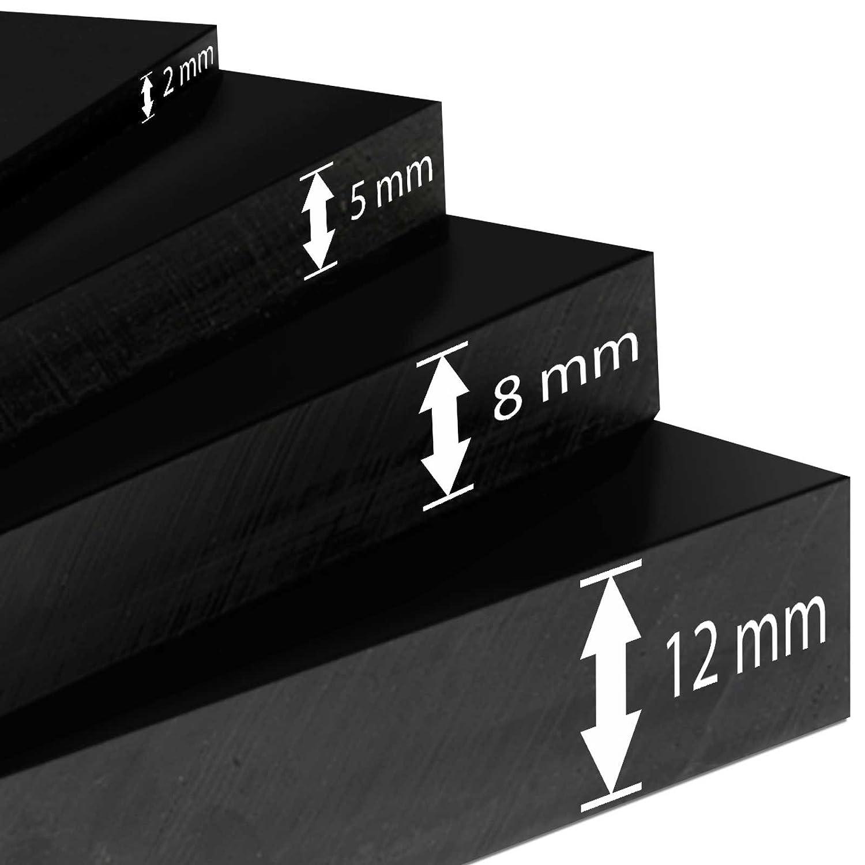 Gummimatten in 9 St/ärken St/ärke 6 mm 120x100 cm Gummiplatten NR//SBR zahlreiche Verwendungsm/öglichkeiten Meterware