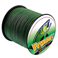 Frwanf Braid Fishing Line 1000M/1093Yards - Super Strong Multifilament Fishing Wire 6LB-300LB PE Fishing String for Freshwater&Saltwater Deep Sea Fishing Ice Fishing etc.
