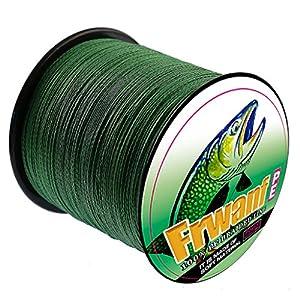 Frwanf Braid Fishing Line 1000M/1093Yards - Super Strong Multifilament Fishing Wire 6LB-300LB PE Fishing String for Freshwater&Saltwater Deep Sea Fishing Ice Fishing etc.