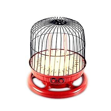 XH Shop Calentador de Jaula de pájaros Estufa eléctrica doméstica Calentador eléctrico pequeño Dormitorio Asador Estufa