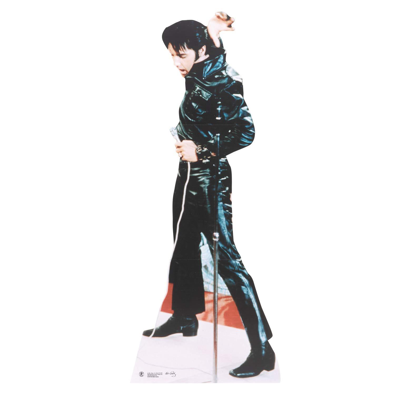 Star Cutouts Official Cardboard Cutout of Elvis 1968 Comeback Special Star Cutouts Ltd SC594