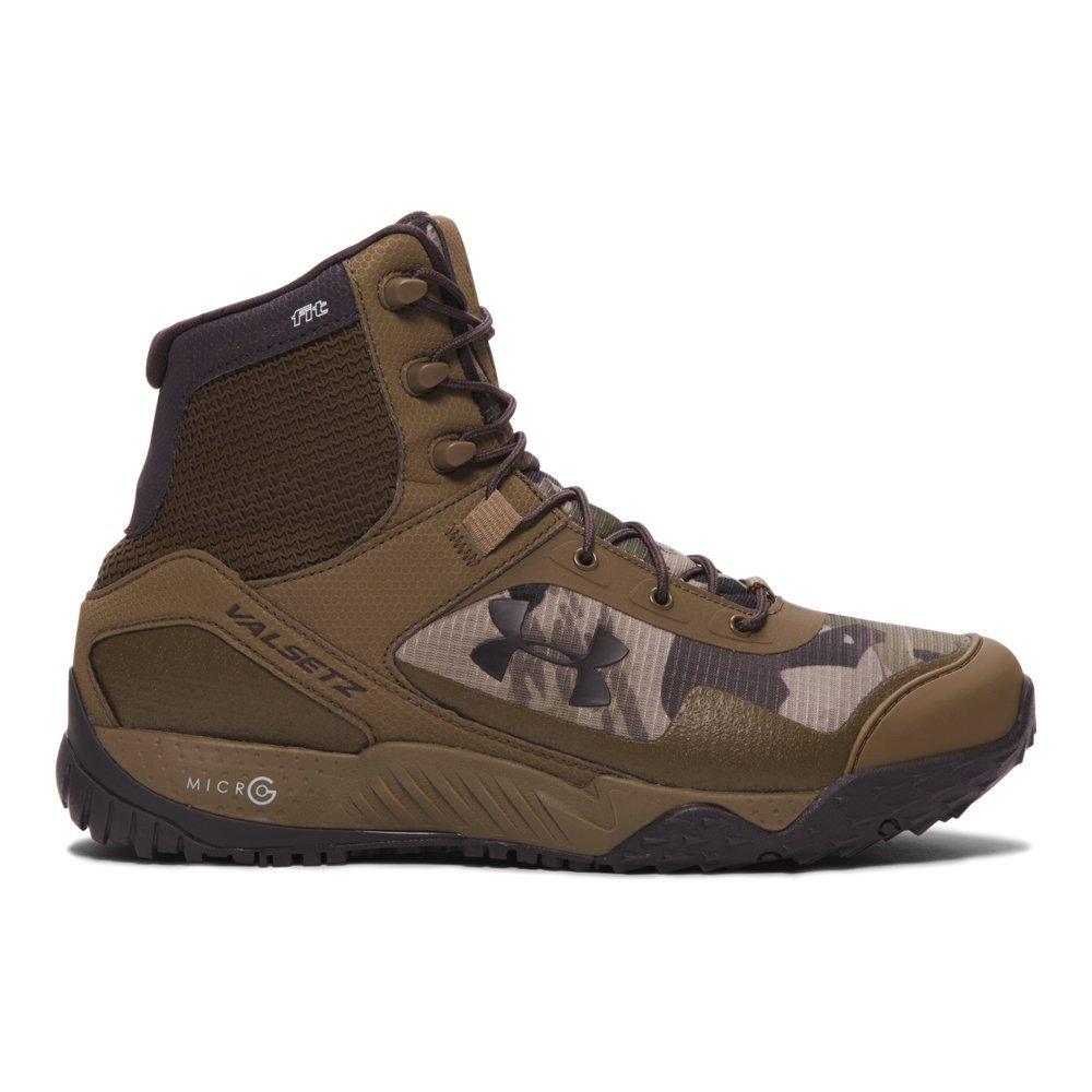 Under Armour Men's Valsetz RTS Military and Tactical Boot Reaper Camo (951)/Uniform 12.5