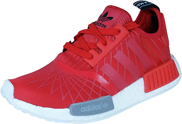 adidas NMD Runner Damen LauftrainerSchuhe Red 36.67: Amazon