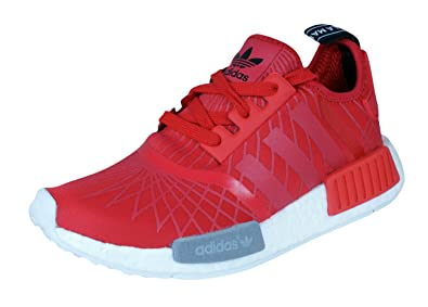 adidas NMD Runner Womens Running Sneakers Shoes-Red-6.5 f5a9befac0