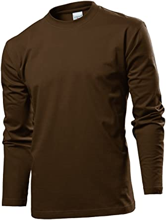 Mens Comfort-T/ST2130 Regular Fit Classic Long Sleeve T-Shirt Stedman Apparel Cheap Largest Supplier Hot Sale Marketable Online Outlet Amazing Price KveRL