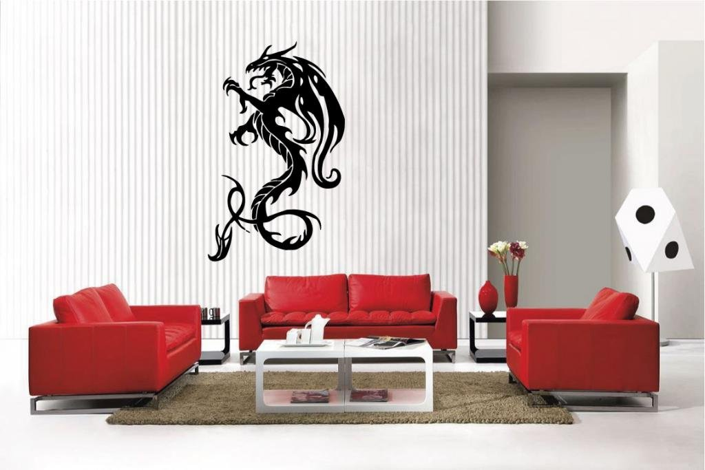 Amazon.com: Newclew Dragon Removable Vinyl Wall Decal Home Décor Large:  Home U0026 Kitchen Part 91