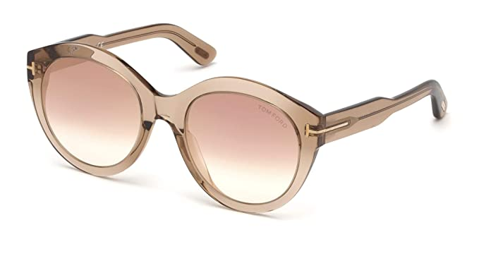 Gafas de Sol Tom Ford Rosanna FT 0661 Light Brown/Brown ...