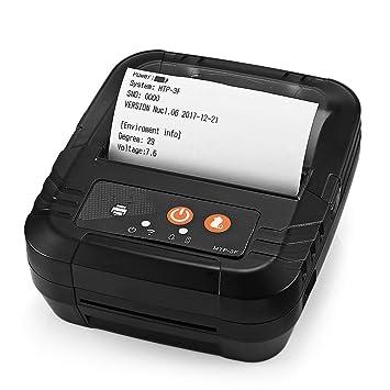 ZUEN Impresoras portátiles Inalámbrico, USB Impresora ...