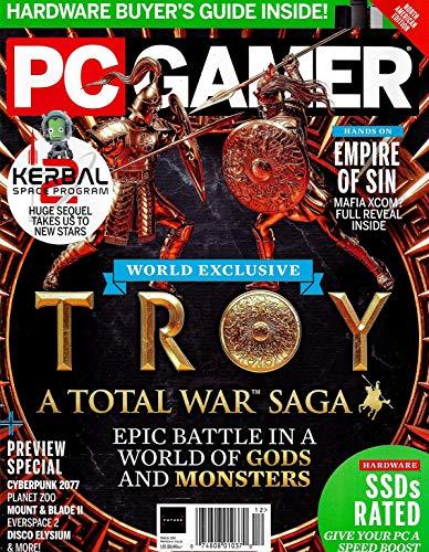 PC GAMER Magazine (December, 2019) Issue 324 TROY A TOTAL WAR SAGA