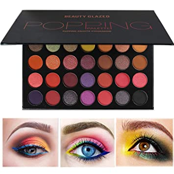Beauty Lady 32 Color Cosmetic Matte Eyeshadow Cream Eye Shadow Makeup Palette Shimmer Set Sep 23 Beauty Essentials Eye Shadow