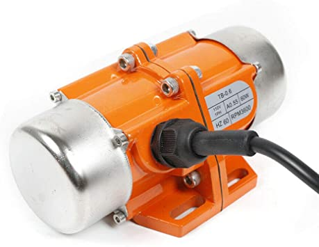 Concrete Vibrator Vibration Motor 80W AC 110V 3600rpm Aluminum Alloy Vibrating Vibrators for Shaker Table 80W