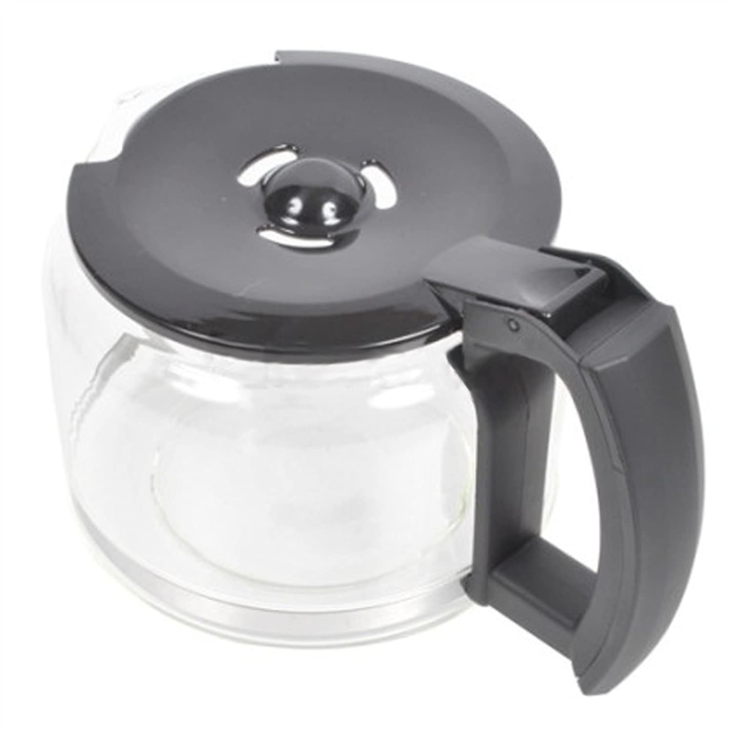SPARES2GO Glass Jug Carafe for Russell Hobbs 14899 Coffee Machine