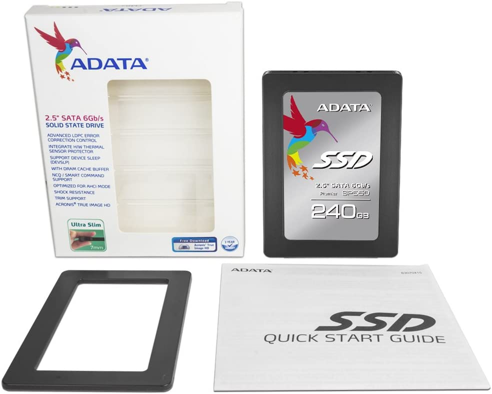 ADATA SP550 240 GB Serial ATA III 2.5