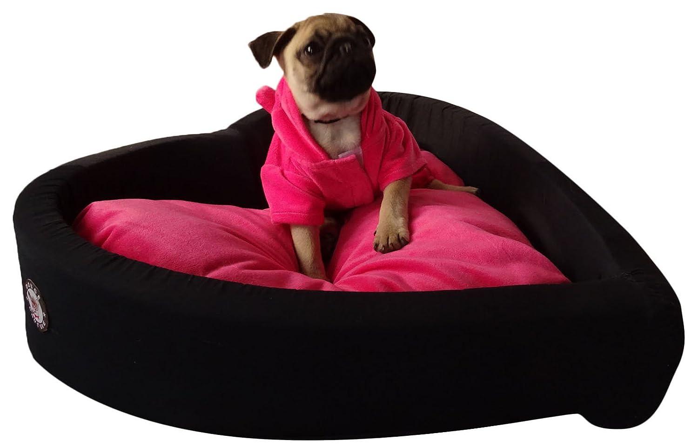 Dog Couture Samt & Baumwolle Waschbares Schlafsofa Reisekissen Haustier Hund - Größe auswählen