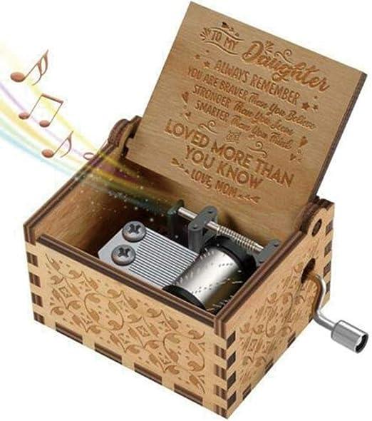 TOMMY LAMBERT Caja de música, Caja de música Retro clásica Hecha a ...