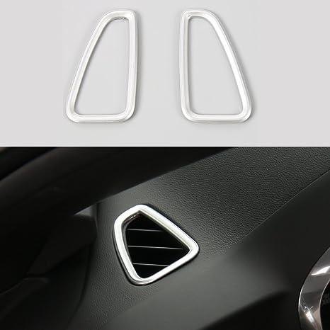 For 2017 Chevrolet Camaro Chrome Dashboard Left /& Right Vent Decor Cover Trim