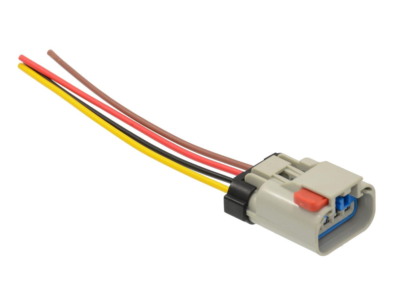 amazon com connector for fuel pump sender wiring harness gas fits  amazon com connector for fuel pump sender wiring harness gas fits chrysler dodge automotive