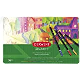 DERWENT(R) 2300225 COLOURED PENCILS, PK 36 TIN