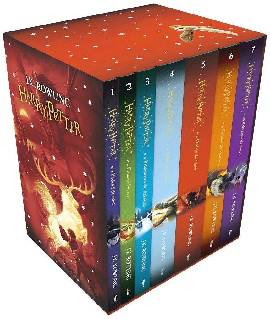 Caixa Harry Potter - Edição Premium - 9788532505705 - Livros na ...