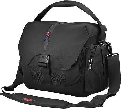 Outdoor SLR camera bag photography bag Messenger bag shoulder laptop bag//// black