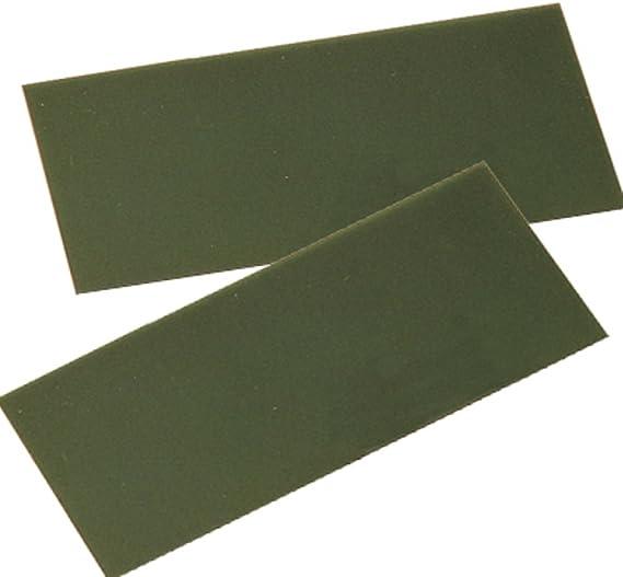 32 Piece Assorted Gauges 4 x 4 Translucent Sheet Wax