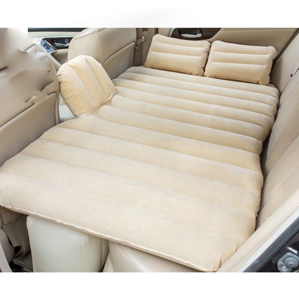 JIBO Tragbare Auto-Aufblasbare Bett-Erwachsene Matratzen-Hintere Reise-Bett-Spalte Mit Dem Sperren-Streifen-Auto-Universaltreibendes Nicht Für Den Straßenverkehr Aufblasbares Bett