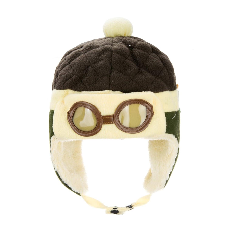 be669b0ee3b Ztl Baby Boy Girl Kids Toddlers Cool Infant Winter Pilot Aviator Warm Cap  Beanie Hat