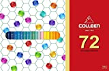 Colleen pencil 72 colors - Adult coloring