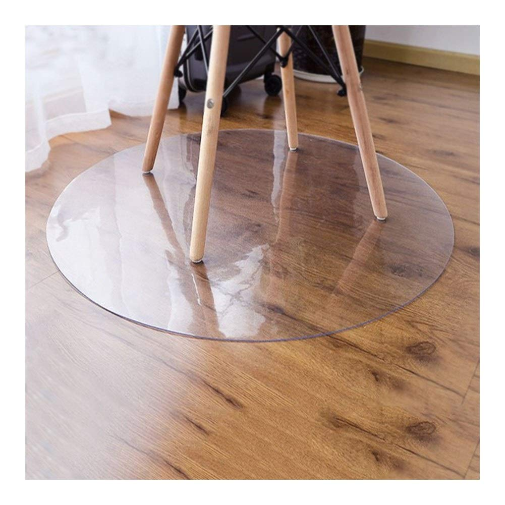Chair Mat Hard Tile Floors Round Table Cover Protector Polycarbonate Non Slip Office, 3 Thicknesses ALGFree (Color : 3mm, Size : Diameter-140cm) by ALGFree-Chair mat