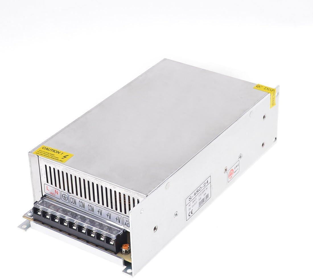 X-Dr S-480-24 Aluminio Carcasa Salida DC 24V 20A LED Fuente de alimentación conmutada (748cd2d06f52aeb514e1a29b30fcfcd6)