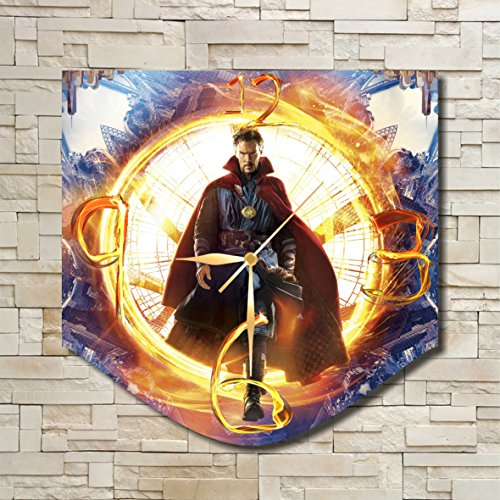 [Doctor Strange 11.8'' Original Handmade Wall Clock - Get unique décor for home or office – Best gift ideas for kids, friends, parents and your soul] (Dr Strange Modern Costume)