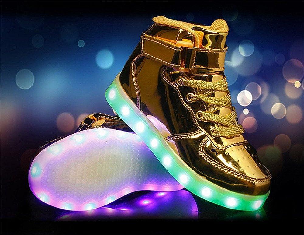 Jedi fight back USB LED Lights Luminous Boys Girls Kids Shoes Sportswear Lace Up Casual Sneaker