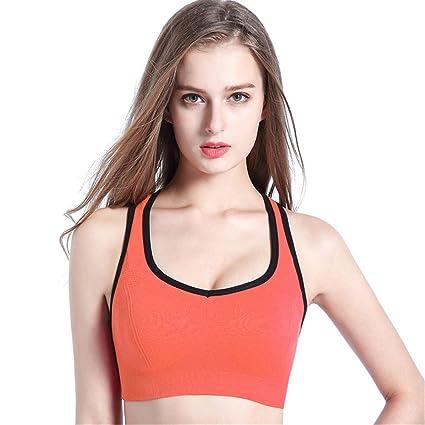 Comfort Bra Mujeres Niñas Sujetador de Yoga sin aro de Acero a Prueba de Golpes Chaleco