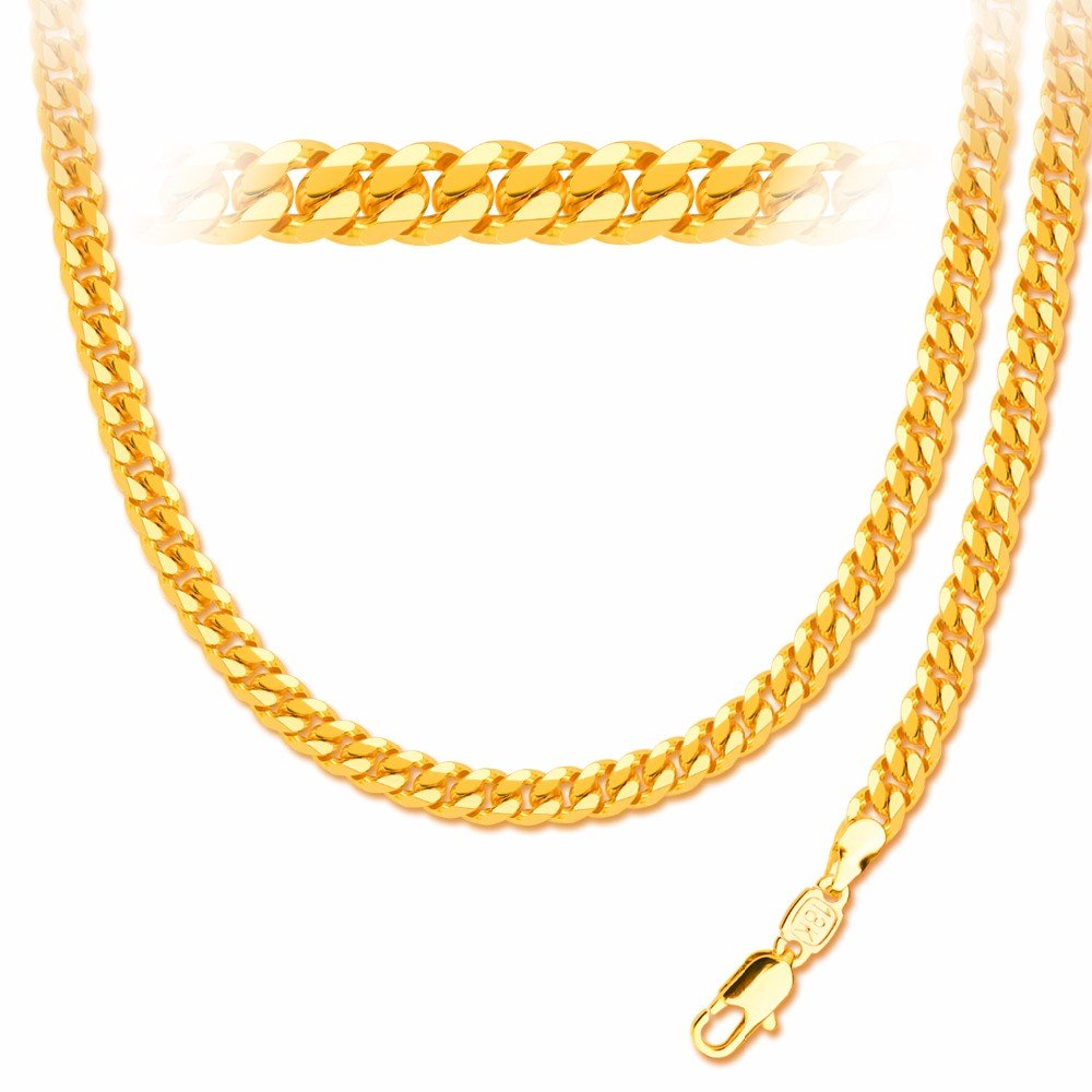 Luxury 18K Gold Plated Trendy Chain Necklace&Bracelets 56CM New Fashion Party Jewelry Gift NB60080 DODO JEWELRY