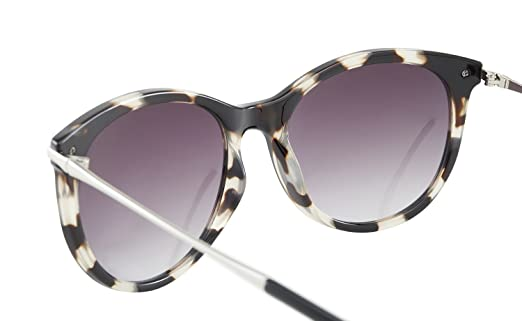 Avoalre Damen Sonnenbrillen Retro Fashion Brille Schutzbrille Vintage Style Metallrahmen inkl. PU Etui - 100% UV 400 Schutz für Sommer (klassisch Grau) i1oMgwK3H