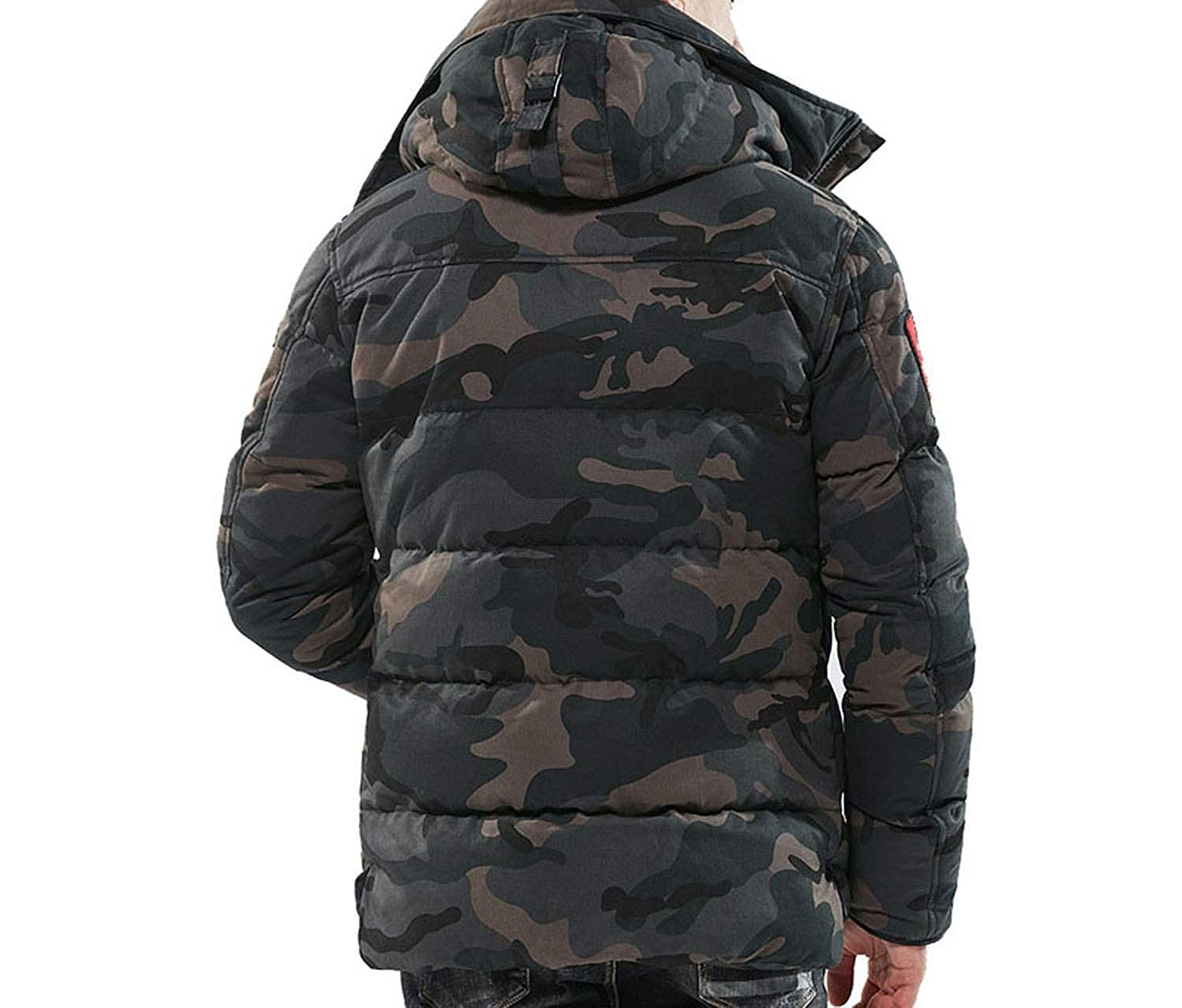 Amazon.com: Parka Men Winter Jackets Cotton Chaquetas Hombre ...