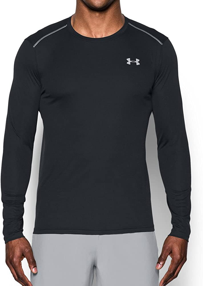 Under Armour Mens Coolswitch Run Long Sleeve V2 Shirt