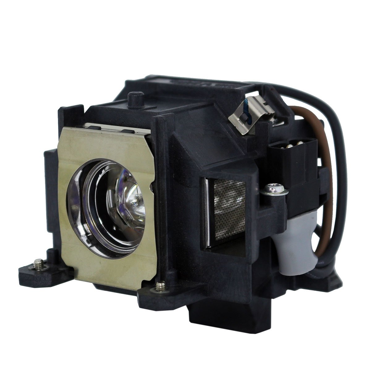 AuraBeam Professional Epson ELPLP40 Projector Replacement Lamp with Housing (Powered by Ushio)