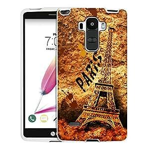 LG G Stylo Case, Snap On Cover by Trek Paris Eiffel Tower Art Case