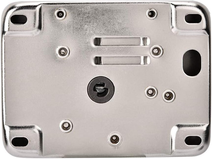 NEUFDAY Neufdayyy Elektronisches T/ürschloss mit Fernbedienung , Elektronisches T/ürzugangskontrollsystem Silber Intelligentes Einzelkopfschloss